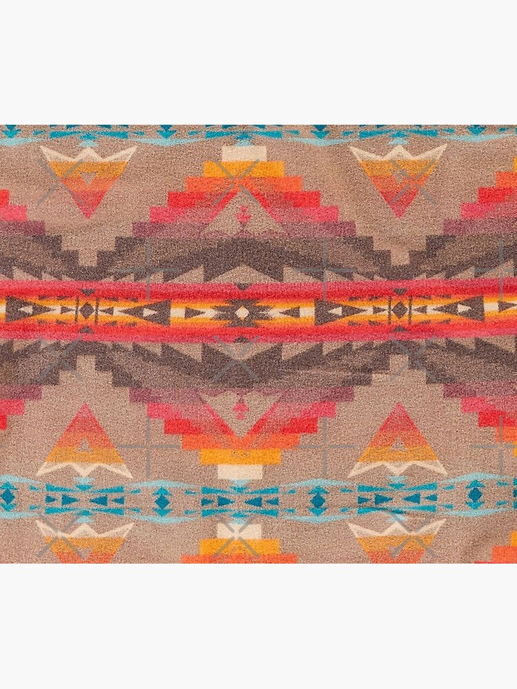 Southwest Pattern Blanket Geometric Native American Indian by PopeProductions