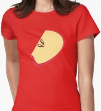 Apple cut Womens Fitted T-Shirt