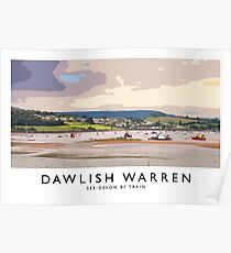 Dawlish Warren (Railway Poster) Poster