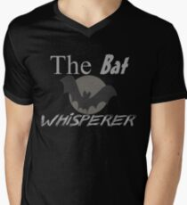 The Bat Whisperer Men's V-Neck T-Shirt