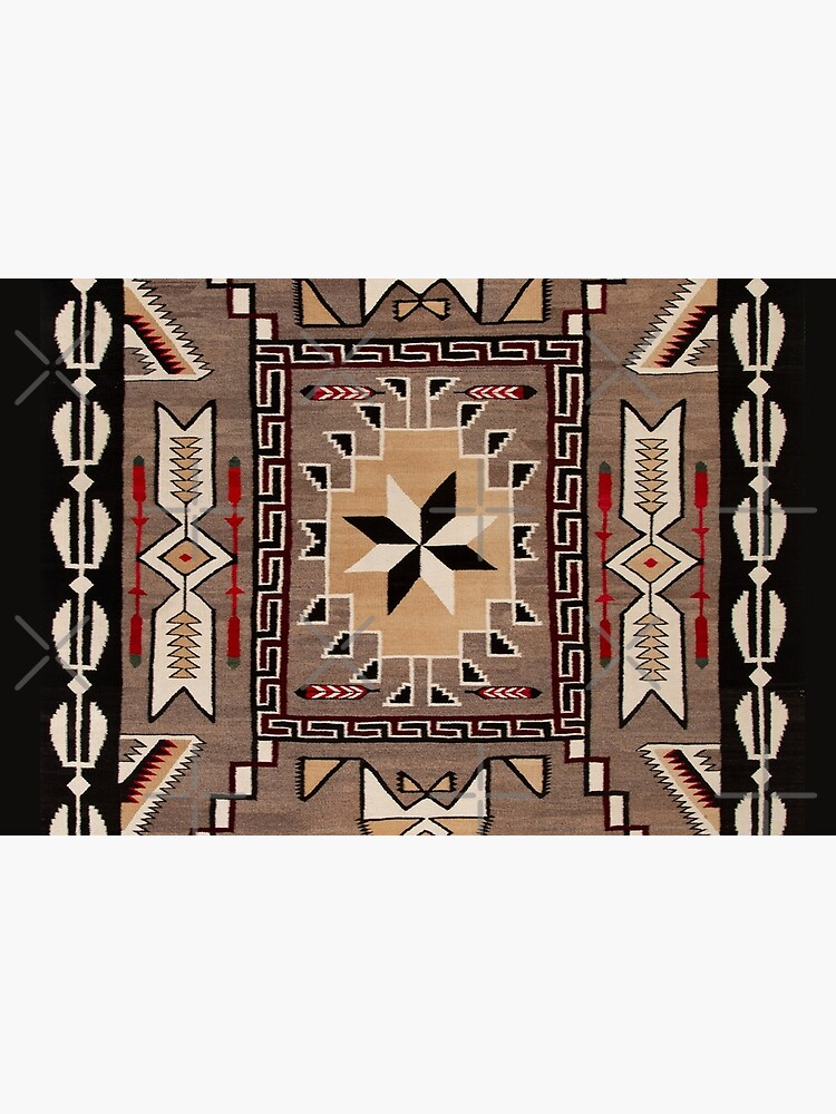 Southwestern Indian Native American Pattern by PopeProductions
