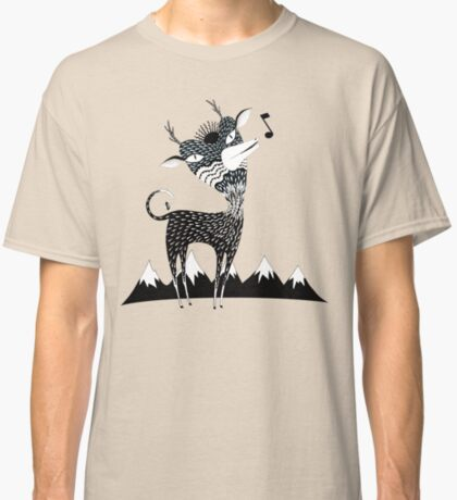 Singing Deer of the Shaggy Mountains Classic T-Shirt