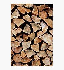 The Log Pile Photographic Print