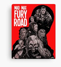 Mad Max Fury Road with Logo Canvas Print