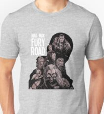 Mad Max Fury Road with Logo Unisex T-Shirt