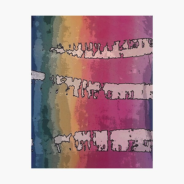 Rustic Rainbow  Photographic Print
