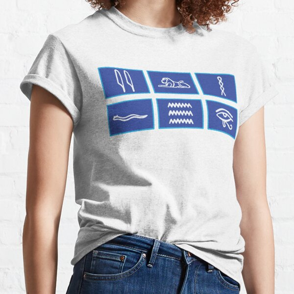 Only Connect T-shirt Question Words. Classic T-Shirt