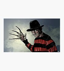 Freddy Krueger Photographic Print