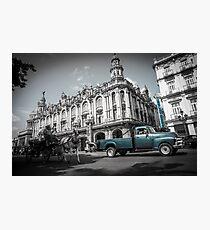 Havana Street Scene, Cuba. Photographic Print