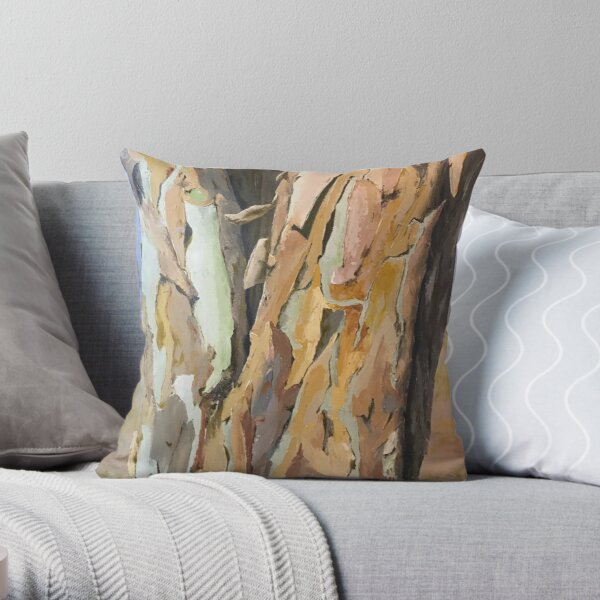 Outgrowing Its Skin Throw Pillow