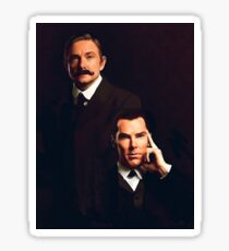 Mr Holmes and Dr Watson Sticker