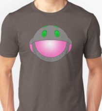 Heavy Metal Spaceship / Starship black outline, colour fill T-Shirt