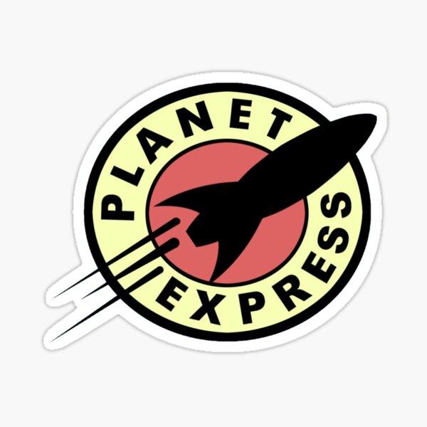 Planeta expreso Pegatina