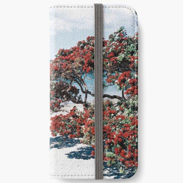 """""""Wonderful Waiheke"""" - Onetangi Beach  iPhone Wallet"""