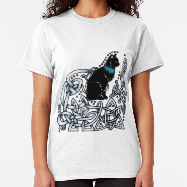 Celtic/Egyptian Cat Classic T-Shirt