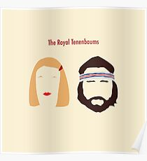 The Royal Tenenbaums, Margot, & Richie Poster