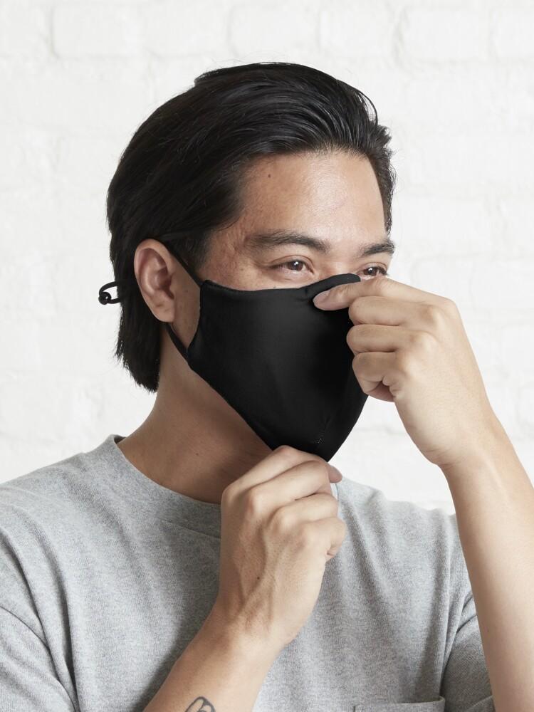 Alternate view of Black Black Mask