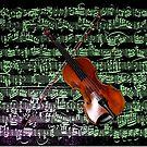 Paganini Violin by Rose Gerard