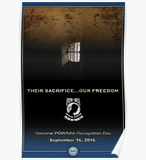 Defense Department POW/MIA Recognition Day 2016 Poster Poster