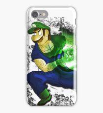 Kamehame-Luigi iPhone Case/Skin