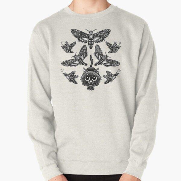 Deadly Moth Lover Pullover Sweatshirt