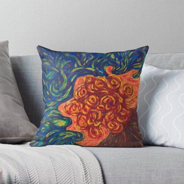 Absorbed by You Throw Pillow