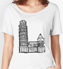 Pisa Italy Women's Relaxed Fit T-Shirt