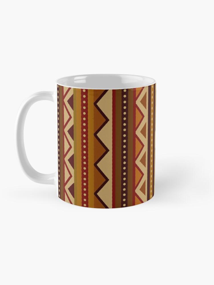 Alternate view of African border Mug