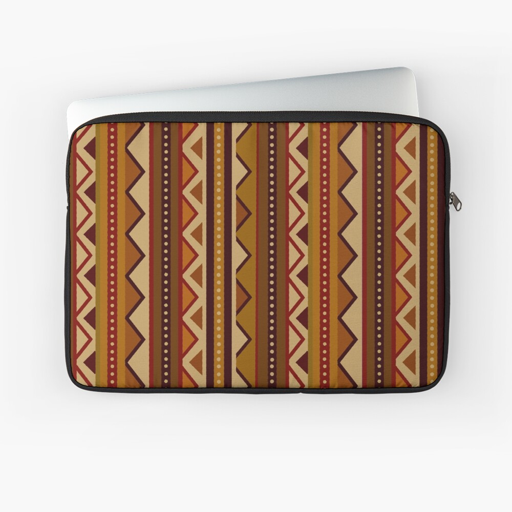 African border Laptop Sleeve