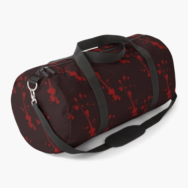 blood stain after a vampire bite Duffle Bag