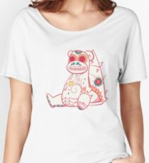 Slowbro Pokemuerto | Pokemon & Day of The Dead Mashup Women's Relaxed Fit T-Shirt