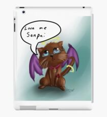 Longing Cat  iPad Case/Skin