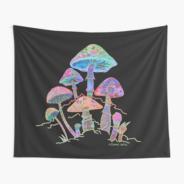Garden of Shrooms   New Dawn Edition Tapestry