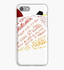 Asp Explorer Voyage Voyage iPhone Case/Skin