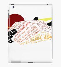 Asp Explorer Voyage Voyage iPad Case/Skin