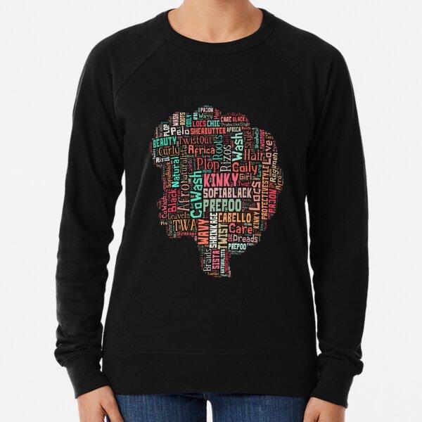 Afro Hair Care - Natural Team Lightweight Sweatshirt