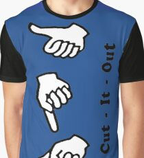 Cut It Out Graphic T-Shirt
