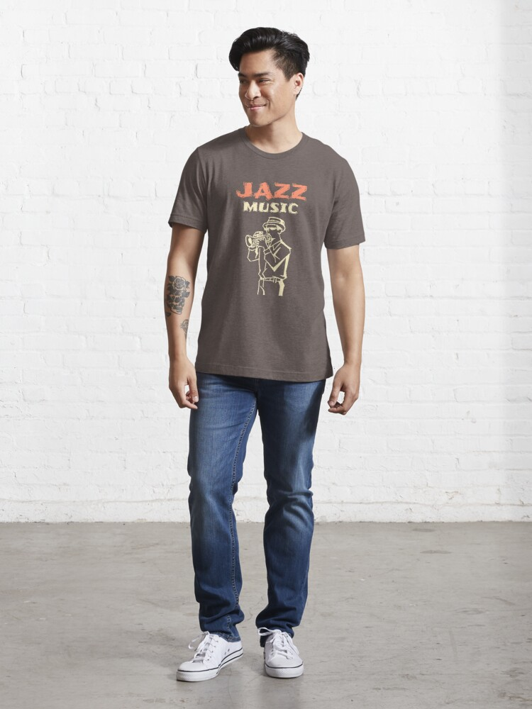 Alternate view of Jazz Music Essential T-Shirt