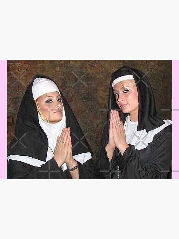 Paris Hilton and Nicole Richie nuns by cheedee