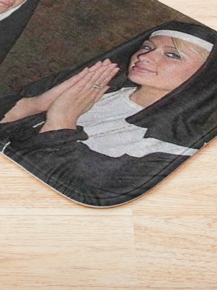 Alternate view of Paris Hilton and Nicole Richie nuns Bath Mat