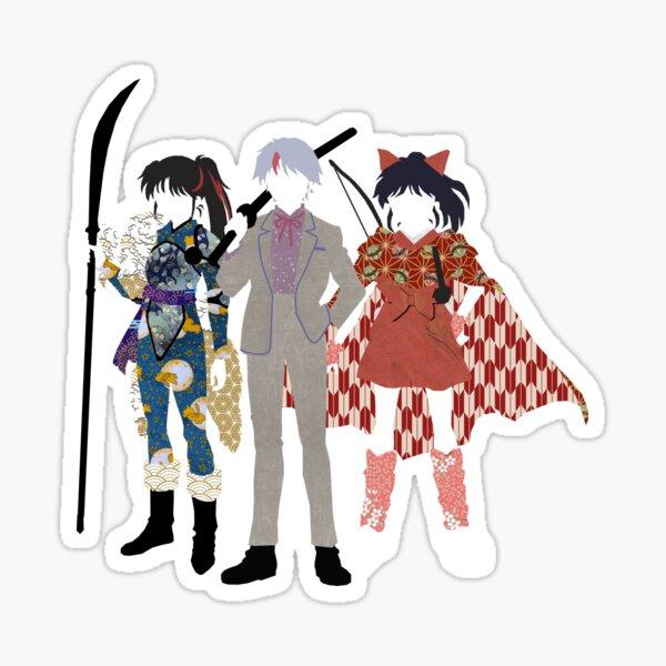 Origami Yashahime Three Sticker