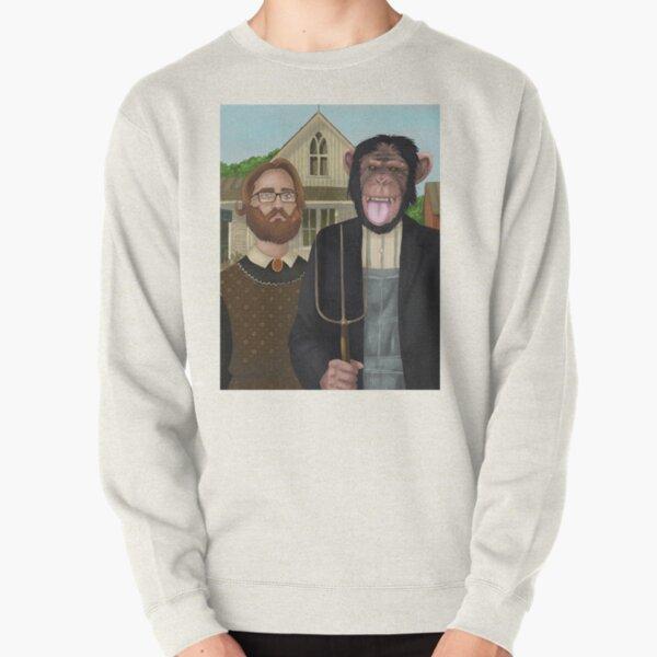 Monkey Gothic Pullover Sweatshirt
