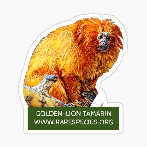 Golden-Lion Tamarin Sticker