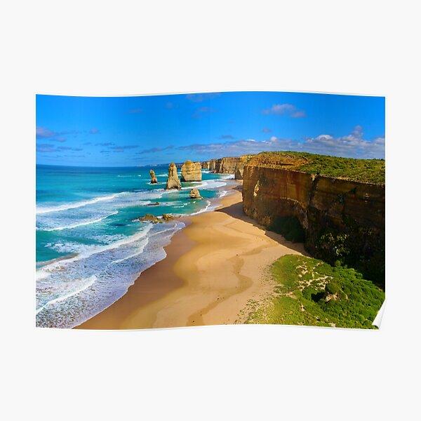 12 Apostles Great Ocean Road Victoria Poster