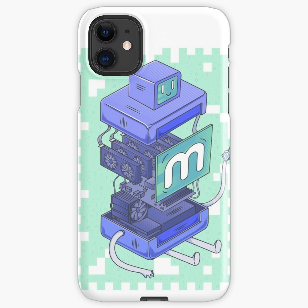 Anatomy of a Miner iPhone Case & Cover