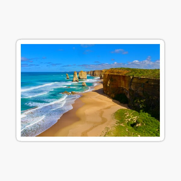 12 Apostles Great Ocean Road Victoria Sticker