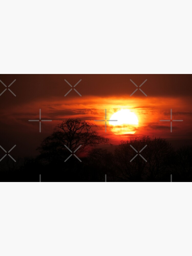 Fiery Sunset by OrenjiDesign