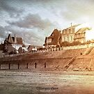Normandy Beach by Wilfried van Dokkumburg