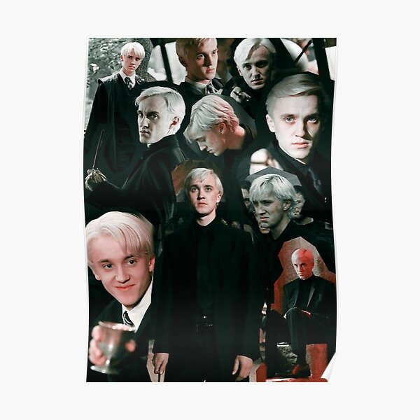 DRACO MALFOY  COLLAGE  Poster