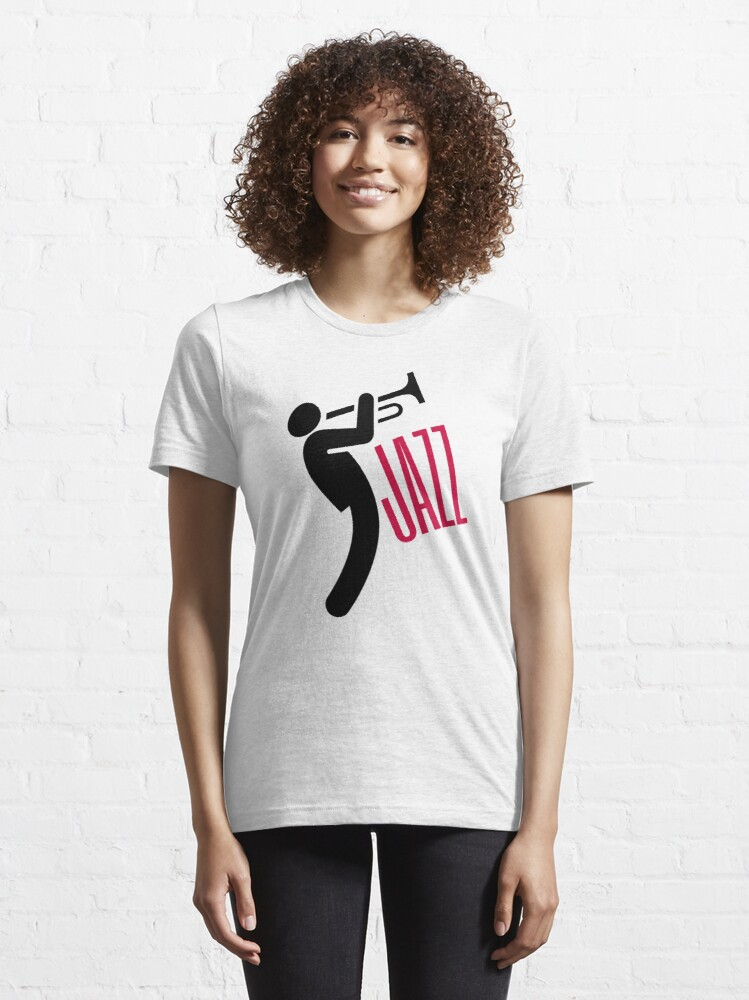 Alternate view of Jazz Trumpet Essential T-Shirt